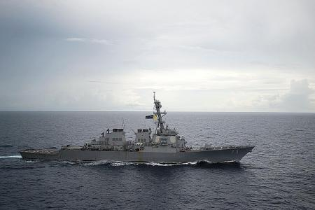 China voices concern to United States over Taiwan Strait warship operation