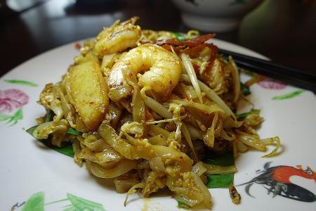 Penang food is everywhere