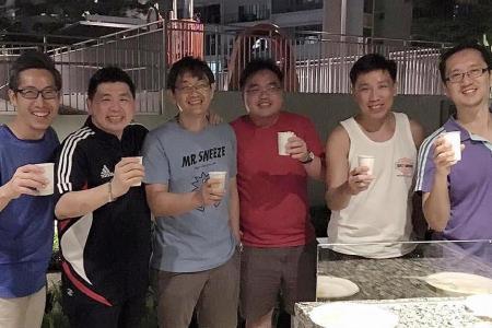 Friends participate in Big Walk again after 24 years