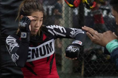 Angela Lee withdraws from One Championship event in Singapore