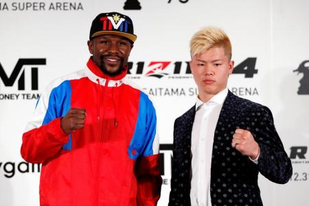 Mayweather comes out of retirement for Dec 31 bout in Japan