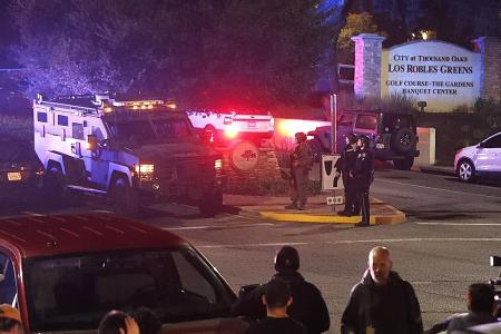 Gunman dead after killing 12 in bar filled with college students