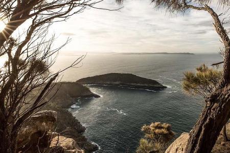 Summery Christmas in Tasmania