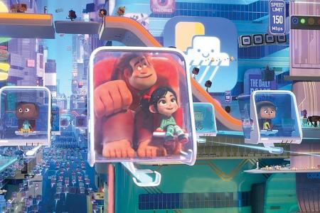 Technology finally catches up to building Ralph Breaks The Internet