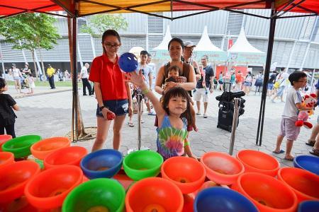 Sports Hub celebrates festive season