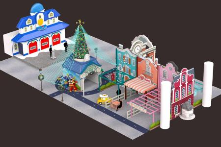 Deck the malls with fun family festivities this Christmas