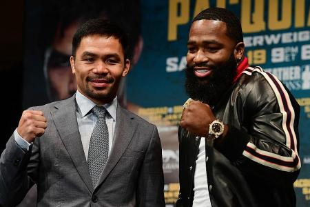 Pacquiao teases Mayweather on their rematch