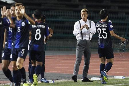 Honda finds joy in Suzuki Cup win as Sundram is sent off
