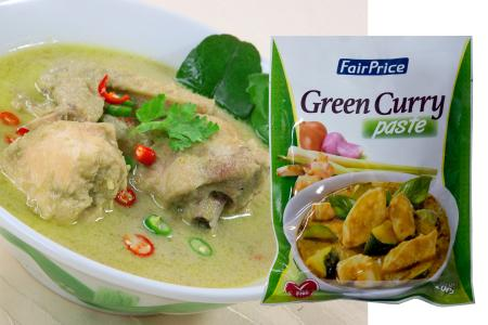 Familiar ready-to-cook flavours in FairPrice's Asian Recipe Paste Mix
