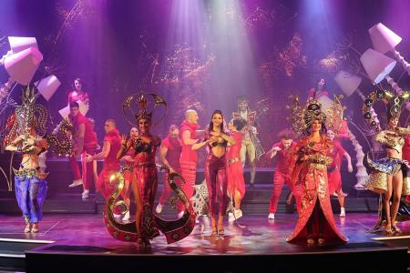 Genting Dream entertains with Sonio show, Spider-Man activities