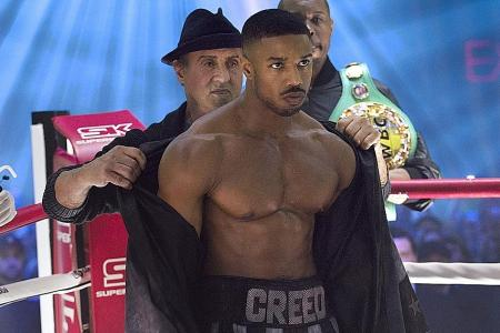 No pulling punches when Michael B. Jordan filmed Creed II