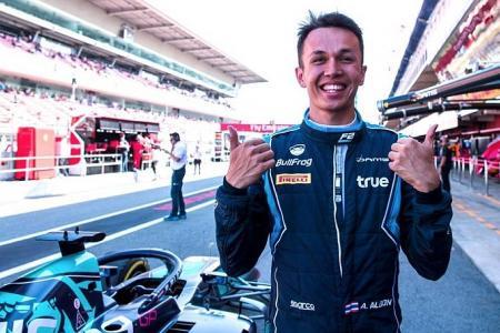 Albon is first Thai driver in modern F1 era