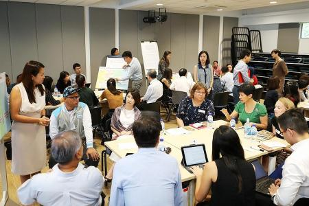 Uplift hosts engagement session with community partners