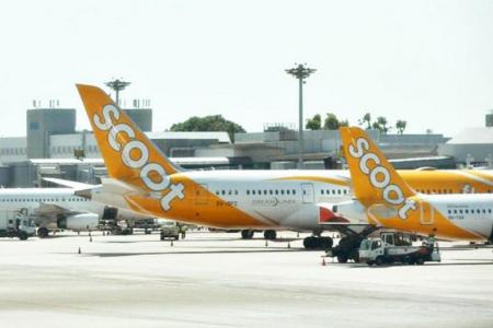 Fighter jets escort Scoot flight after bomb scare