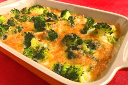 Festive broccoli bake may just convert broccoli haters