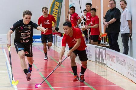 Floorballers ready for cold battle in Prague