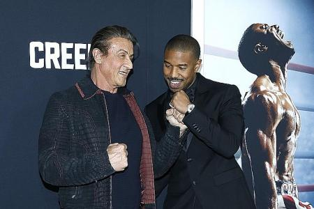 Stallone says he's hanging up his Rocky gloves