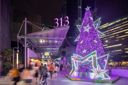 Have a dazzling Christmas at 313@somerset