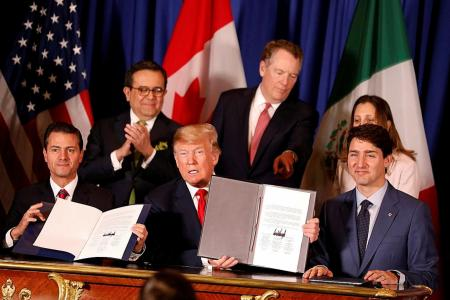 Trump to kill old NAFTA to force Congress to approve USMCA