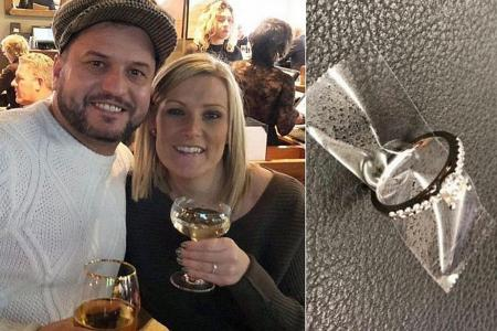NYC cops find couple who lost engagement ring down subway grate