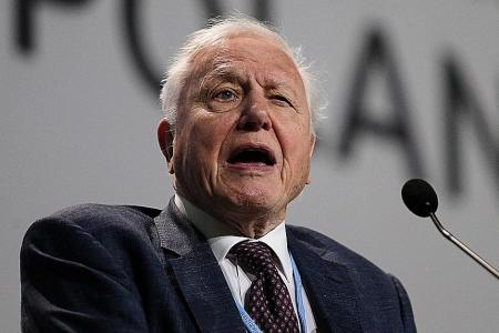 Younger people 'angry' over climate betrayal: Attenborough
