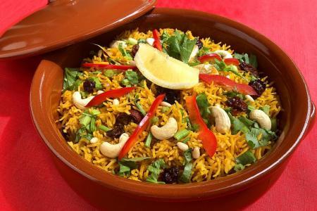 Get festive with saffron butter rice