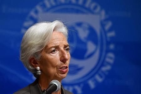 IMF chief urges US, others to reject 'dystopian' path