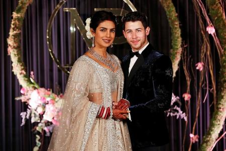 Chopra, Jonas continue celebrating wedding at New Delhi reception