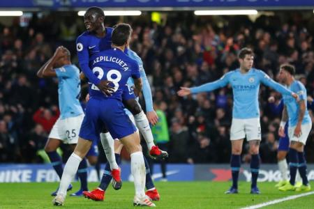 Man City handed first EPL defeat of season at Chelsea