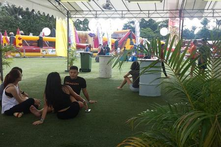 Vendors upset over poor turnout at event at Sentosa