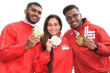Magnificent seven for Singapore's silat team