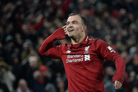 Liverpool's masterclass against Manchester United is no shock, says Shaqiri