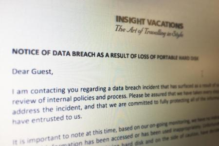 Potential data breach after travel agency employee loses hard disk