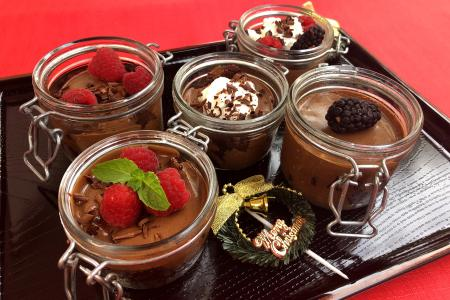 Satisfy your sweet tooth with chocolate mousse trifle