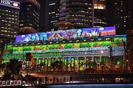 Light projections the highlight at this year's countdown