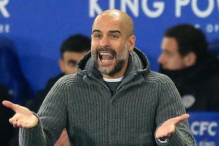 City's Pep Guardiola after Leicester loss: I must change the dynamic