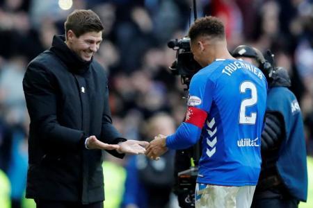 Gerrard steers Rangers to long-awaited win over Celtic