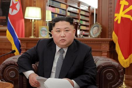 Kim ready to meet Trump but warns of 'new path' if sanctions continue