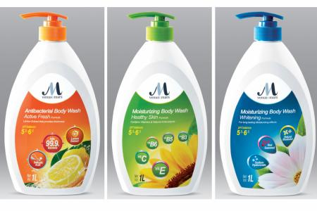 Get your glow on with FairPrice's Venus & Mars body wash and lotion