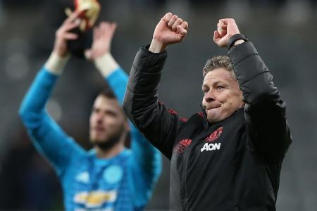 Solskjaer matches Busby's record as Man United beat Newcastle