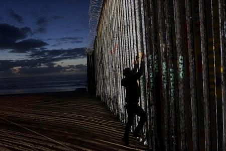 Trump holds firm on border wall, offers steel option as compromise