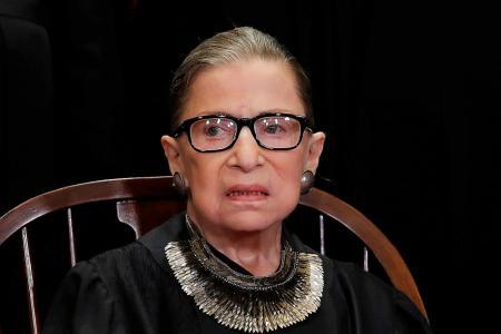 Capturing Ginsburg's fiery spirit, elegance