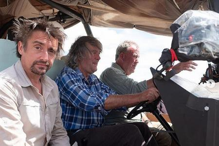 Fast cars and rickety bridges as motoring show The Grand Tour returns