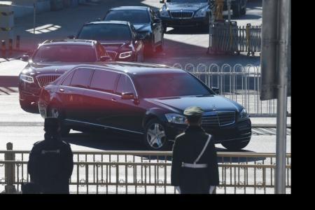 Kim visits China after warning of alternate path to US talks