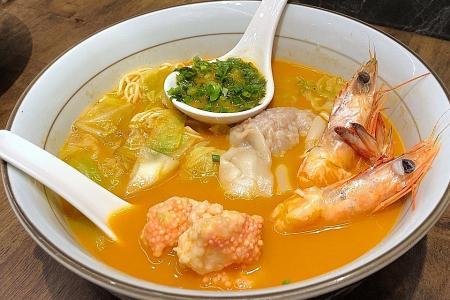 Best of both prawn and ramen at Le Shrimp Ramen
