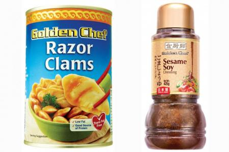 Go for gold at CNY with Golden Chef products