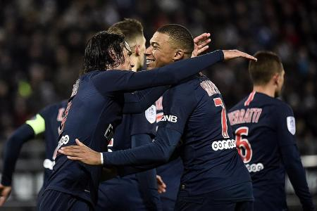 PSG bounce back from defeat