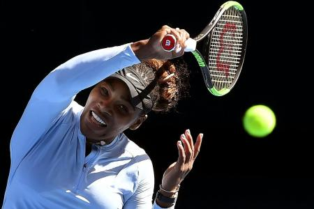Nerves could jinx Serena's record Slam bid, says Court