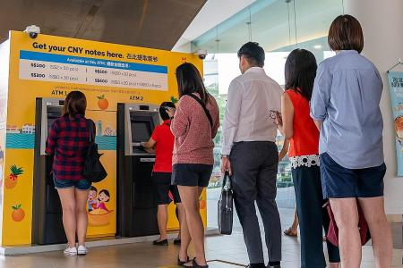 New CNY notes available from DBS, POSB ATMs from today