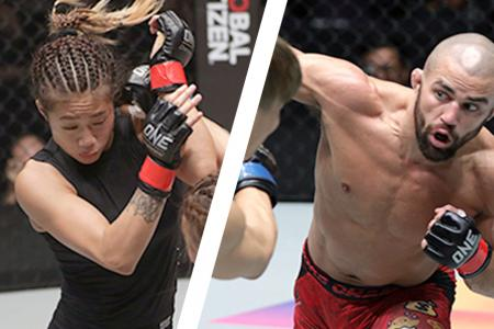 """Unstoppable"" Angela Lee and Garry ""The Lion Killer"" Tonon ONE Championship"